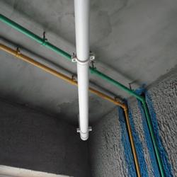 路打压压力坚持达到0.6—0.8 兆帕,防止水管渗漏。