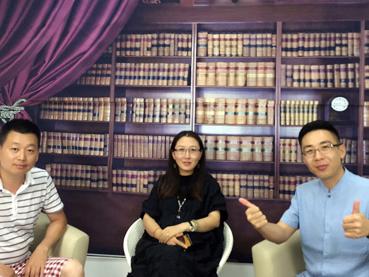解长瑜先生与北京瑞博文融发高层