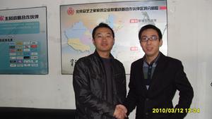 解总与WOGO北京办事处大区经理合影